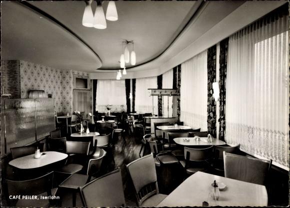 Ak Iserlohn im Märkischen Kreis, Café Peiler, Am Schillerplatz