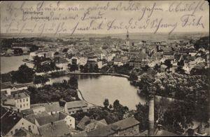 Ak Tschernjachowsk Insterburg Ostpreußen, Totalansicht von der Stadt