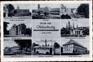 Ak Oldenburg in Holstein, Gruß aus Oldenburg, Ansichten vom Ort