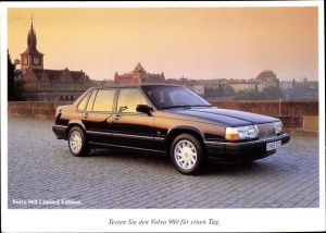 Ak Volvo 960 Limited Edition, Auto, Reklame