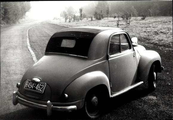 Foto Ak Automobil, Cabrio, Kennzeichen R494-462, Selbstmördentüren