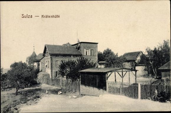Ak Bad Sulza in Thüringen, Blick auf Haus Krähenhütte