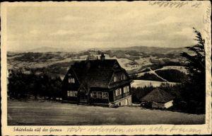 Ak Jablunkov Jablunkau Mährisch Schlesien, Schutzhaus auf der Girowa