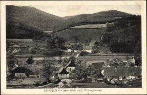 Ak Teindeln Plettenberg im Märkischen Kreis, Blick nach Hilfringhausen, Ortschaft