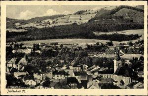 Ak Jablunkov Jablunkau Mährisch Schlesien, Blick auf Stadt und Umgebung