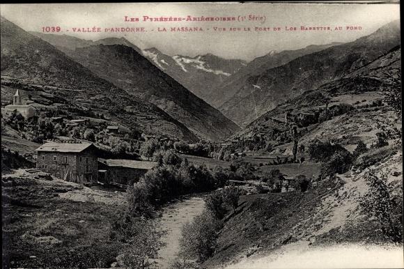 Ak Andorra la Vella Andorra, Landschaftspanorama, Talansicht, La Massana