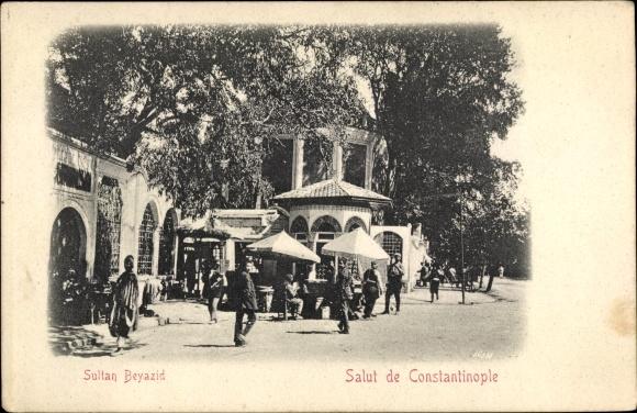 Ak Konstantinopel Istanbul Türkei, Sultan Beyazid