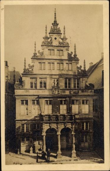 Ak Münster in Westfalen, Altes Stadtweinhaus