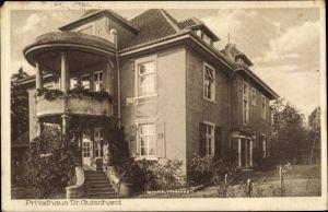 Ak Schledehausen Bissendorf in Niedersachsen, Privathaus Dr. Guischard, Garten