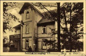 Ak Schledehausen Bissendorf in Niedersachsen, Sanatorium Dr. Guischard, Haushaltungsschule
