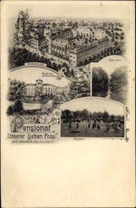 Ak Mülhausen Grefrath Nordrhein Westfalen, Pensionat Unserer Lieben Frau, Spielplatz