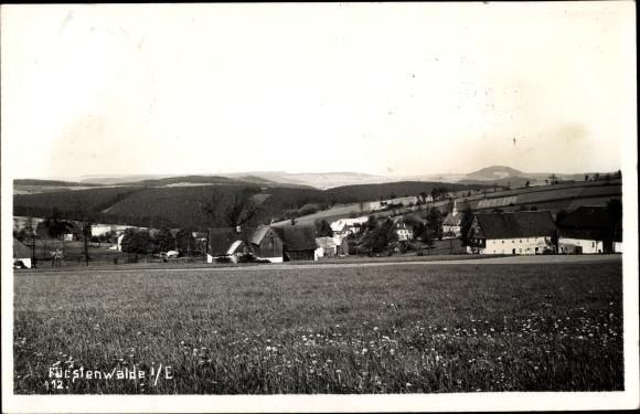 Foto Ak Fürstenwalde an der Spree, Totalansicht vom Ort 0