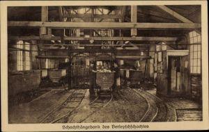 Ak Staßfurt Sachsen Anhalt, Staatliches Salzwerk, Berlepschschacht, Schachthängebank