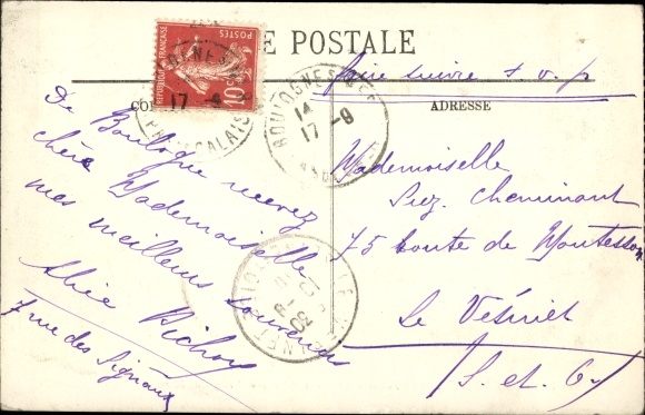 Ak Boulogne sur Mer Pas de Calais, Le Bateau d'Excursion Holland, Ausflugsdampfer, LL. 1