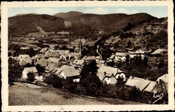Ak Barembach Barenbach Elsass Bas Rhin, Vue Generale, Panoramaansicht von Ortschaft und Umgebung 0