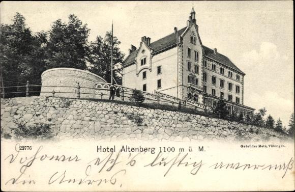 Ak Bei Neubois Gereuth Elsass Bas Rhin, Hotel Altenberg 0