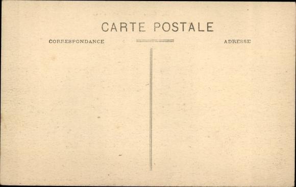 Ak Algier Alger Algerien, Rue Sadi Carnot, Café de la Bourse, Straßenansicht 1