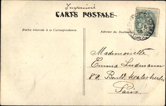 Ak Paris, König Alfons XIII. von Spanien, Président de la République Émile Loubet, 30.5.1905 1