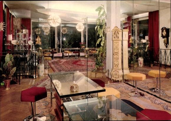 Ak Hamburg Eimsbüttel Lokstedt, Schmuckhandlung Gold Villa, Innenansicht, Ahornallee 3, Uhren 0