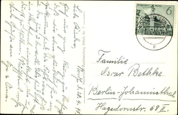 Ak Nordhausen in Thüringen, Stadtumwallung und Dom 1