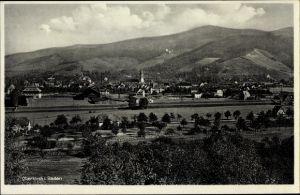 Ak Oberkirch in Baden Württemberg, Blick auf den Ort mit Umgebung