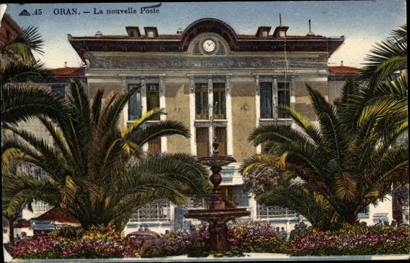 Ak Oran Algerien, La nouvelle Poste, neue Post 0