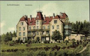 Ak Schledehausen Bissendorf in Niedersachsen, Sanatorium, Außenansicht