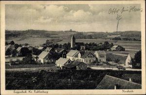 Ak Laggenbeck Ibbenbüren im Tecklenburger Land, Nordseite, Vogelschau auf den Ort