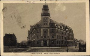 Ak Oberhausen im Ruhrgebiet, Blick auf das Neue Hauptpostamt
