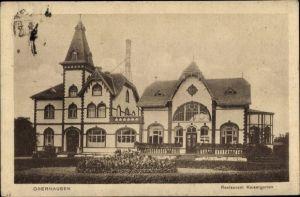 Ak Oberhausen im Ruhrgebiet, Blick auf das Restaurant Kaisergarten
