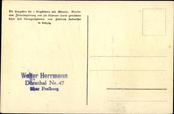 Lied Ak Günther, Anton, Himmlschlüssela blüh, Erzgeb. Mundart No. 44 1