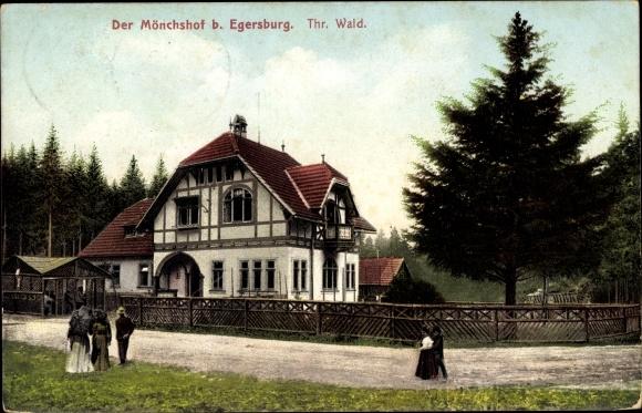 Ak Elgersburg in Thüringen, Partie am Mönchshof 0
