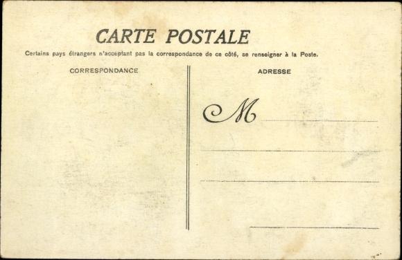 Ak Paris, Inondations 1910, La Seine au Quai de Bourbon 1