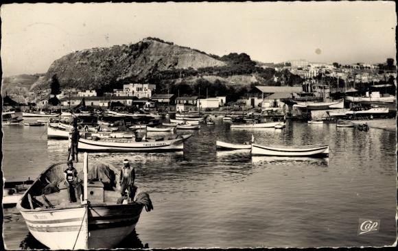 Ak Beni Saf Algerien, Le Port, Partie im Hafen