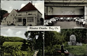 Ak Oesede Georgsmarienhütte in Niedersachsen, Gaststätte Brörmann, Zeppelinstein, Waldpartie