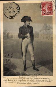 Künstler Ak Napoleon Bonaparte, Kaiser Napoleon I., Portrait