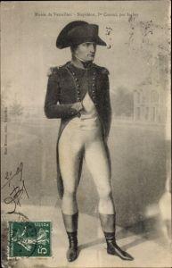 Künstler Ak Isabey, Napoleon Bonaparte, Kaiser Napoleon I., Portrait