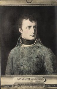 Künstler Ak Girodet, Napoleon Bonaparte, Kaiser Napoleon I., Premier Consul, Portrait