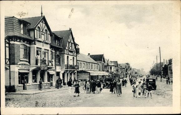 Ak Fort Mahon Plage Somme, Avenue de la Plage, Strandpromenade, Geschäfte