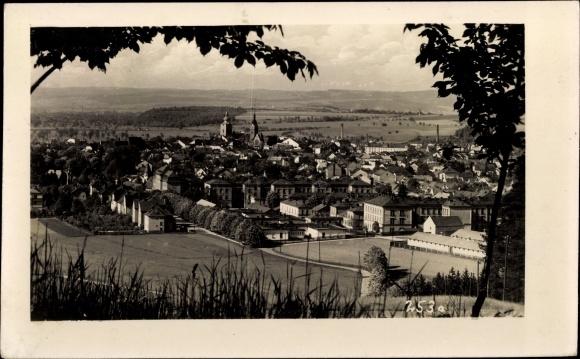 Ak Šumperk Mährisch Schönberg Reg. Olmütz, Panorama