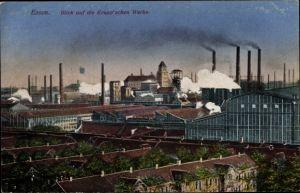 Ak Essen im Ruhrgebiet, Blick auf die Kruppschen Werke