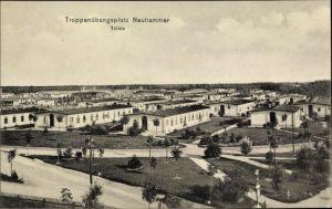 Ak Świętoszów Neuhammer Queis Schlesien, Truppenübungsplatz, Totalansicht