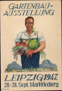 Ak Markkleeberg Sachsen, Gartenbau Ausstellung 20 bis 28 September 1947, Leipzig