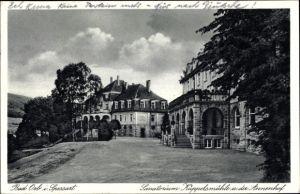 Ak Bad Orb in Hessen, Sanatorium Küppelsmühle u. der Annenhof, Teilansicht mit Umgebung