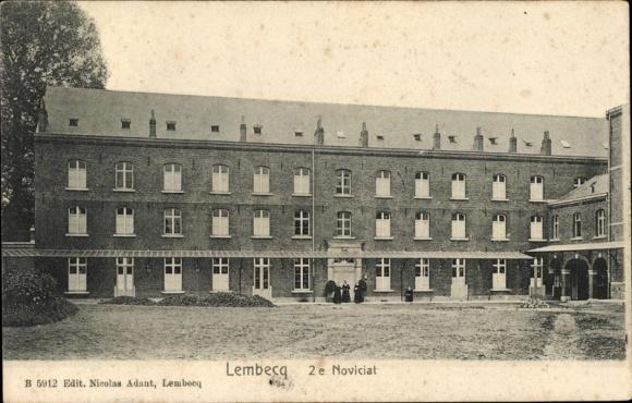 Ak Lembeek Halle Flandern Flämisch Brabant, 2e Noviciat