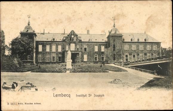 Ak Lembeek Halle Flandern Flämisch Brabant, Institut St. Joseph