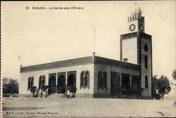Ak Oudjda Oujda Marokko, Le Cercle des Officiers