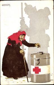 Künstler Ak Suchodolski, Siegmund von, Orts Sammelkomitee vom Roten Kreuz München Stadt