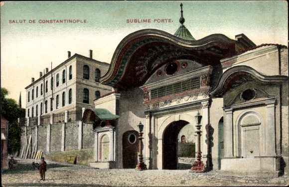 Ak Konstantinopel Istanbul Türkei, Sublime Porte, Hohe Pforte