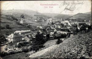 Ak Kleinschmalkalden Floh Seligenthal Thüringen, Panorama vom Ort